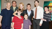 Principal cast members Eddie Korbich, Dan Lauria, Johnny Rabe, Erin Dilly, Zac Ballard, John Bolton and Caroline O'Connor gather alongside the original movie's star Peter Billingsley.