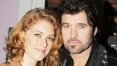 Dylis Croman and Billy Ray Cyrus razzle dazzle audiences and the camera. 
