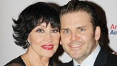Robert Creighton comes in close for a photo with the stunning Chita Rivera.