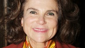 Is that four-time Tony nominee Tovah Feldshuh we see behind that colorful scarf?!