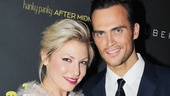 Ari Graynor and Cheyenne Jackson are a match made in porn star heaven in Broadway&#39;s new riotous rom-com. 