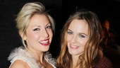Ari Graynor shows off with co-star Alicia Silverstone at the opening night party. 