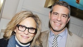 The Performers  opening night  Amy Sedaris  Andy Cohen 