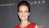 The Performers  opening night  Carla Gugino 