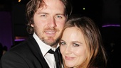 Alicia Silverstone's VIP guest is her husband, Christopher Jarecki.
