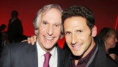 Henry Winkler gets support from his Royal Pains co-star Michael Feuerstein.