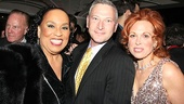 Executive producer Jeffrey Finn sure wouldn't pass up a chance at a photo with his stars Roz Ryan and Carolee Carmello.