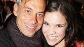 A Christmas Story Opening Night  Joe Mantello  Lindsay Mendez