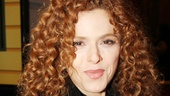Broadway legend Bernadette Peters looks ravishing before the show!