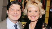A Christmas Story Opening Night  Michael McGrath  Christine Ebersole