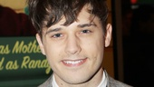Smash newbie Andy Mientus shows up in solidarity for his college friends Benj Pasek and Justin Paul.