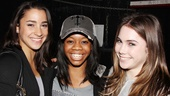 Aly Raisman, Gabby Douglas and McKayla Maroney are no strangers to high-energy gymnastics!