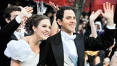 Cinderella at Macy&#39;s Parade - Laura Osnes- Santino Fontana