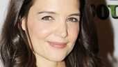 Dead Accounts headliner Katie Holmes looks drop dead gorgeous on opening night.