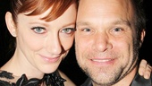 Onstage married couple Judy Greer and Norbert Leo Butz share a ferocious showdown on the stage—and get to make up every night.
