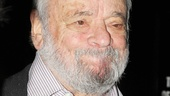 Assassins composer Stephen Sondheim is on hand to celebrate with the reunited cast.