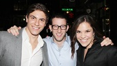 Dogfight alums Derek Klena, Nick Blaemire and Lindsay Mendez wouldn't miss the chance to hang with their favorite assassins.