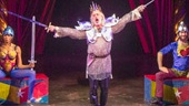 Terrence Mann as King Charles in Pippin.