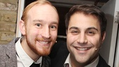 Backstage at 'Sweet Smell of Success' — Stuart Matthew Price — Adrian der Gregorian