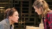Laurie Metcalf as Juliana Smithton and Zoe Perry in The Other Place.