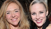 Best friends Rachel Bay Jones and Charlotte dAmboise are thrilled to be starring in Pippin together in Cambridge.