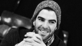 The Glass Menagerie Rehearsal  Zachary Quinto