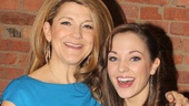 Laura Osnes is overjoyed to share the stage with her Tony-winning fairy godmother, Victoria Clark.