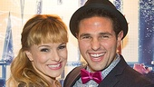 Flashdance cuties Kelly Felthous and David Gordon are thrilled to celebrate the opening of their new musical, in which they play an onstage couple. Can you tell they've got chemistry?