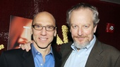 The guys of The Other Place! John Schiappa and Daniel Stern congratulate one another on a successful opening night.  