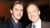 The Heiress Dan Stevens gets chummy with Picnic star Reed Birney.