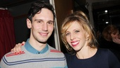 Cock star Cory Michael Smith hangs out with Picnic supporting player Maddie Corman.
