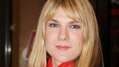 Seminar alum and American Horror Story scene-stealer Lily Rabe looks ravishing on the red carpet, supporting her Seminar director Sam Gold.
