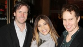 Josh Hamilton, Callie Thorne and Sam Rockwell reunite at Picnic (the trio starred in the 2005 film The F Word).