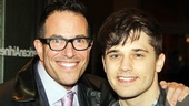 Picnic Opening Night  Michael Mayer  Andy Mientus