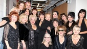 Actors Fund Benefit for Kathi Moss  Nine ladies