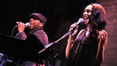 Caissie Levy Album Release- Leslie Odom, Jr - Nicolette Robinson