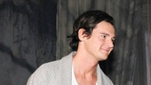Hunky Benjamin Walker takes in the audiences standing ovation.