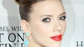 Tony winner Scarlett Johansson looks glamorous on opening night.