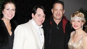 Nice Work  Tom Hanks Backstage  Rita Wilson  Matthew Broderick  Tom Hanks  Kelli OHara