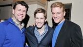 Rob Gallagher stops for a photo with former Scandalous co-stars Andrew Samonsky and Edward Watts. What a handsome trio