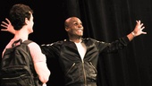 Hit the Wall Rehearsal- Ben Diskant Nathan Lee Graham- 