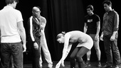 Hit the Wall Rehearsal- Laura Brandel -Sean Allan Krill  - Nathan Lee Graham- Ben Diskant – CHRO- Arturo Soria- Matthew Greer