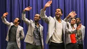 "Motown's Temptations croon the Motown classic ""My Girl."""