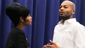 'Motown' Meet and Greet — Valisia LeKae — Brandon Victor Dixon