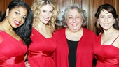 Broadway ladies Rebecca Naomi Jones, Caissie Levy, Jayne Houdyshell and Alli Mauzey performed a hilarious song about idolizing Audra McDonald at the gala.