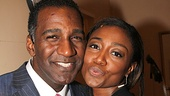 Ragtime love birds Norm Lewis and Patina Miller send their love to fans.