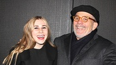 Zosia and David Mamet let loose at Really Really's opening night party at 39 Grove Street.