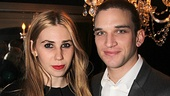 Zosia Mamet and Evan Jonigkeit play engaged college sweethearts Leigh and Jimmy.