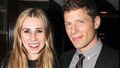 TV stars Zosia Mamet and Matt Lauria couldn&#39;t be happier to lead the off-Broadway company of Really Really.