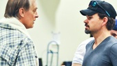 Broadway vets Keith Carradine and Hunter Foster talk truck-winning strategies as JD Drew and Benny Perkins, respectively, in the new musical.